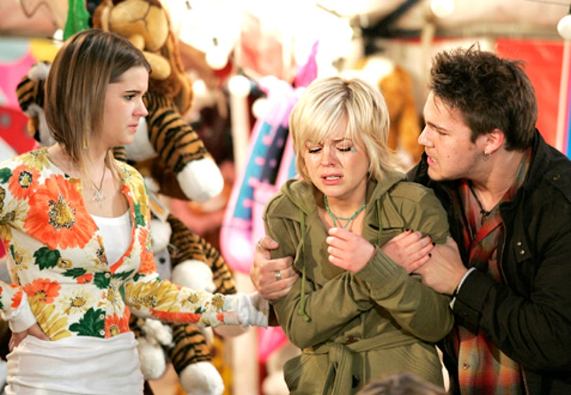 General Hospital - Lindze Letherman, Kirsten Storms and Scott Clifton