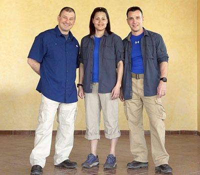 Expedition Impossible - Season 1 - Robert Robillard, Dani Henderson and Jim Vaglica