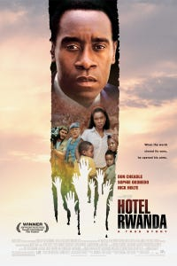 Hotel Rwanda as Paul Rusesabagina