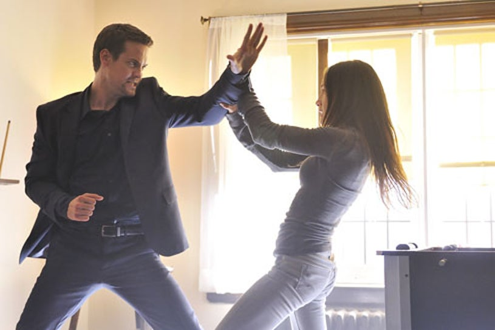 "Nikita - Season 1 - ""Kill Jill"" - Shane West as Michael as Maggie Q as Nikita"