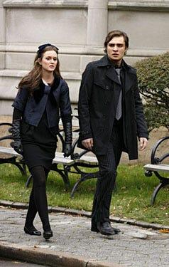 "Gossip Girl - Season 2, ""O Brother, Where Bart Thou?"" - Leighton Meester as Blair, Ed Westwick as Chuck"