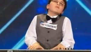 Top Videos: Ricky Gervais Plays Word Sneak, a 9-Year-Old's Unbelievable AGT Audition