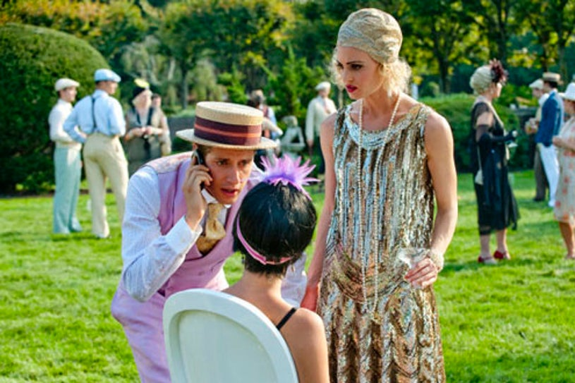 """Royal Pains - Season2 - """"Pit Stop"""" - Paulo Constanzo as Evan Lawson and Brooke D'Orsay as Paige Collins"""