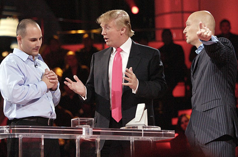 Deal or no Deal - Donald Trump and Howie Mandel
