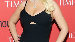 Christina Aguilera Shows Off Slim Figure at Time's Influential People Gala
