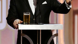 Ricky Gervais Goes for the Jugular In His Golden Globes Monologue