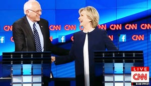 """Bernie Sanders Does Not Care About """"Your Damn Emails,"""" Hillary Clinton"""