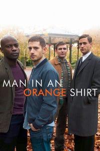 Man in an Orange Shirt as Adam Berryman