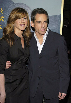 "Jennifer Aniston and Ben Stiller - ""Along Came Polly"" Premiere, January 12, 2004"