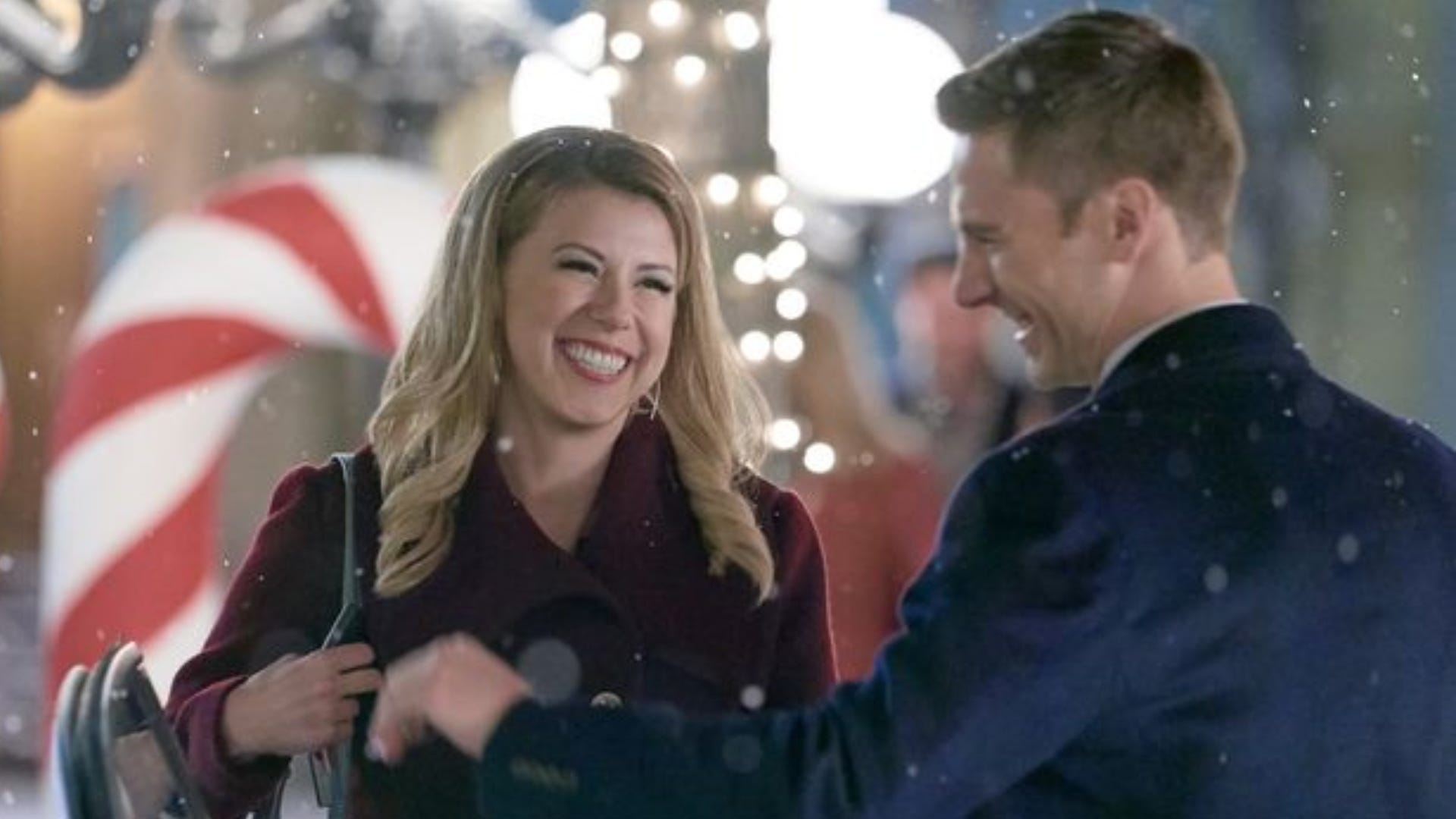 Jodie Sweetin and Andrew Walker, Merry & Bright