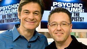 "Dr. Oz Says Psychic John Edward ""Changed My Life"""
