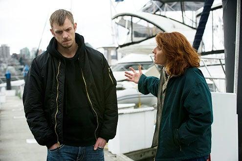"The Killing - Season 2 - ""72 Hours"" - Joel Kinnaman and Annie Corley"