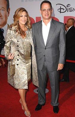 "Rita Wilson and Tom Hanks - The ""Old Dogs"" premiere, November 9, 2009"