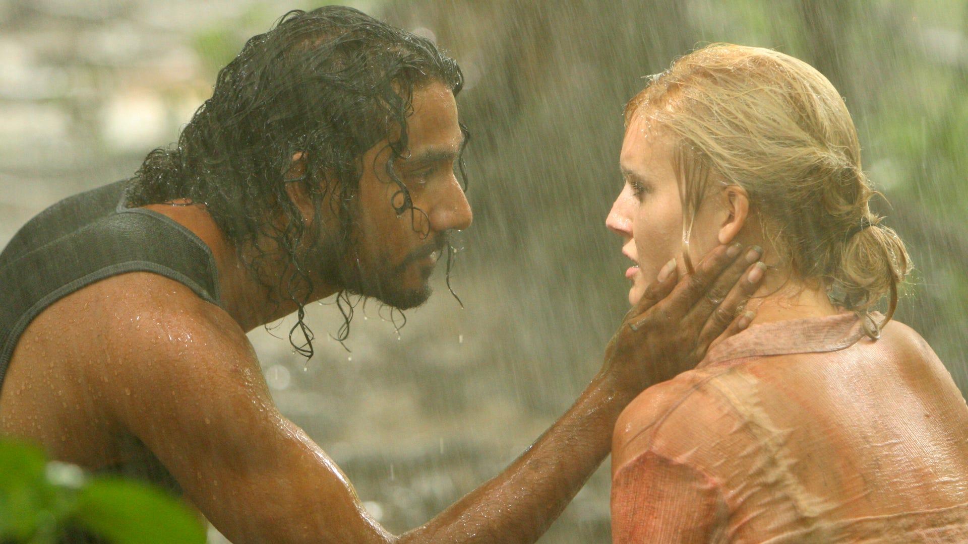 Naveen Andrews, Maggie Grace; Lost