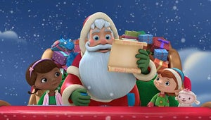 First Look: Jeffrey Tambor and Tony Hale Spend Christmas With Doc McStuffins
