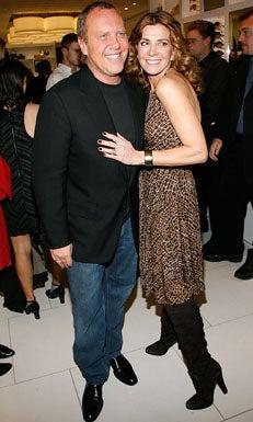 Michael Kors and Natasha Richardson - Michael Kors Store Opening in Soho New York, December 10, 2007
