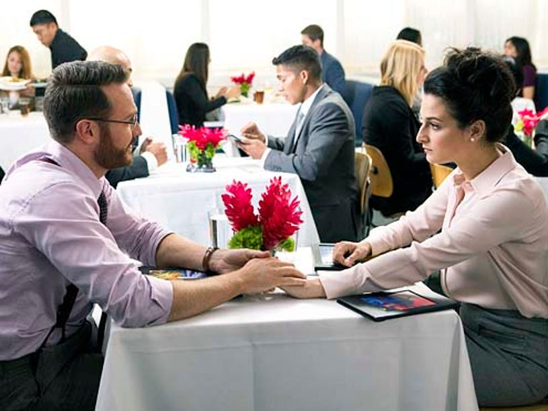 "House of Lies - Season 3 - ""Brinkmanship"" - Josh Lawson and Jenny Slate"