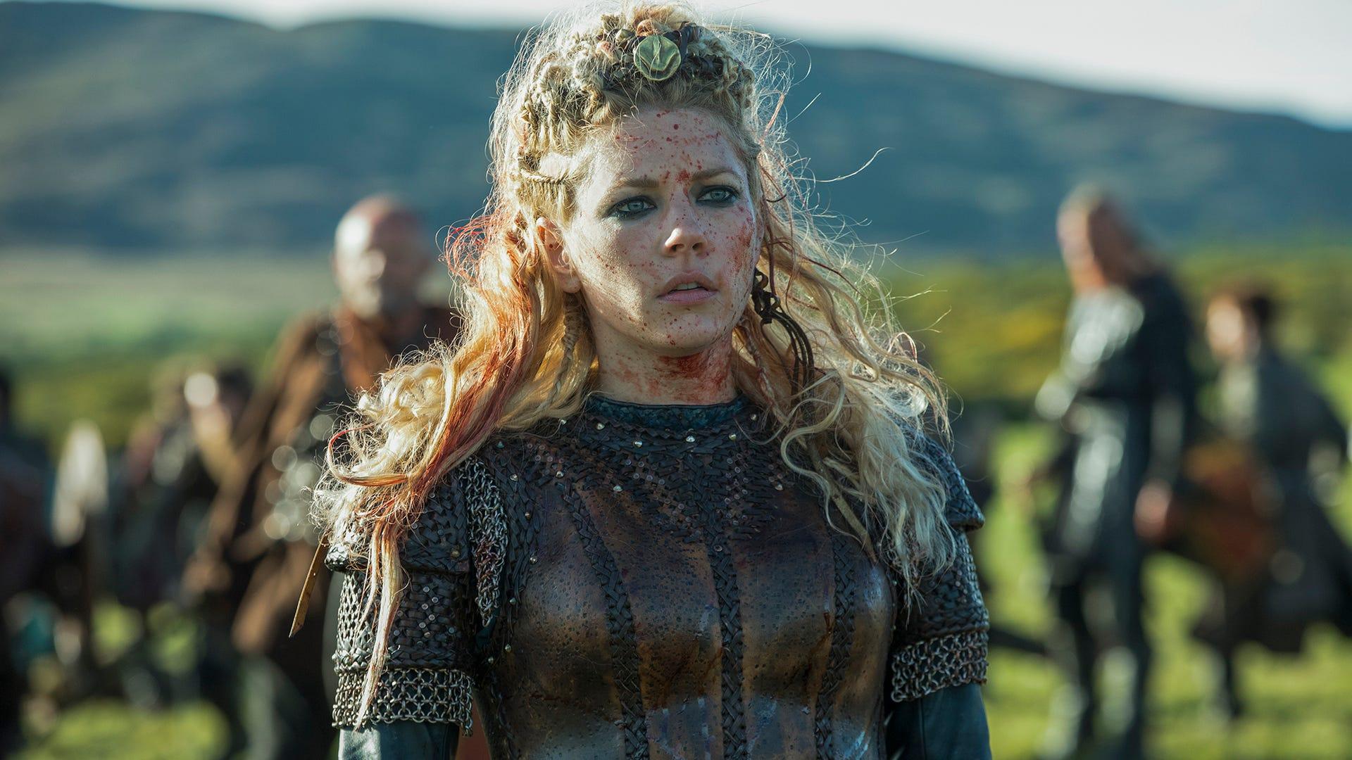 Katheryn, Winnick, Vikings
