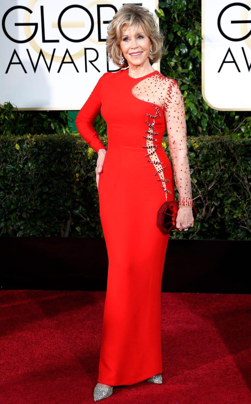 Jane Fonda - 72nd Golden Globe Awards in Beverly Hills, California, January 11, 2015