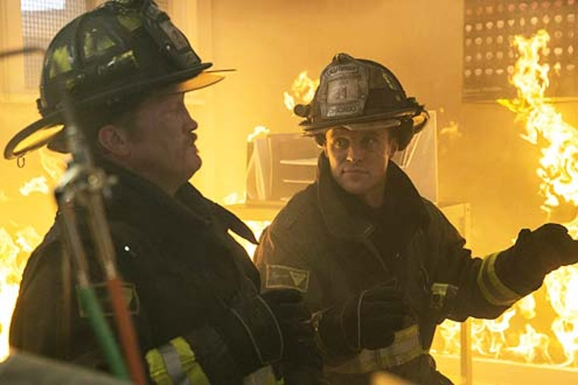 """Chicago Fire - Season 2 - """"Shoved In My Face"""" - Christian Stolte and Jesse Spencer"""