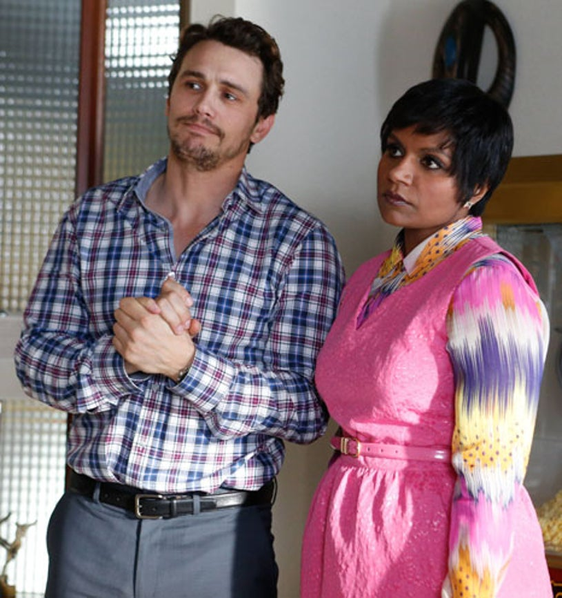 """The Mindy Project - Season 2 - """"The Other Dr. L """" - James Franco, Mindy Kaling"""