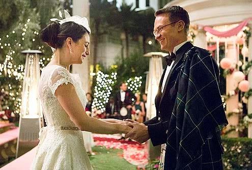 "House of Lies - Season 2 - ""Til Death Do Us Part"" - Jenny Slate and Josh Lawson"