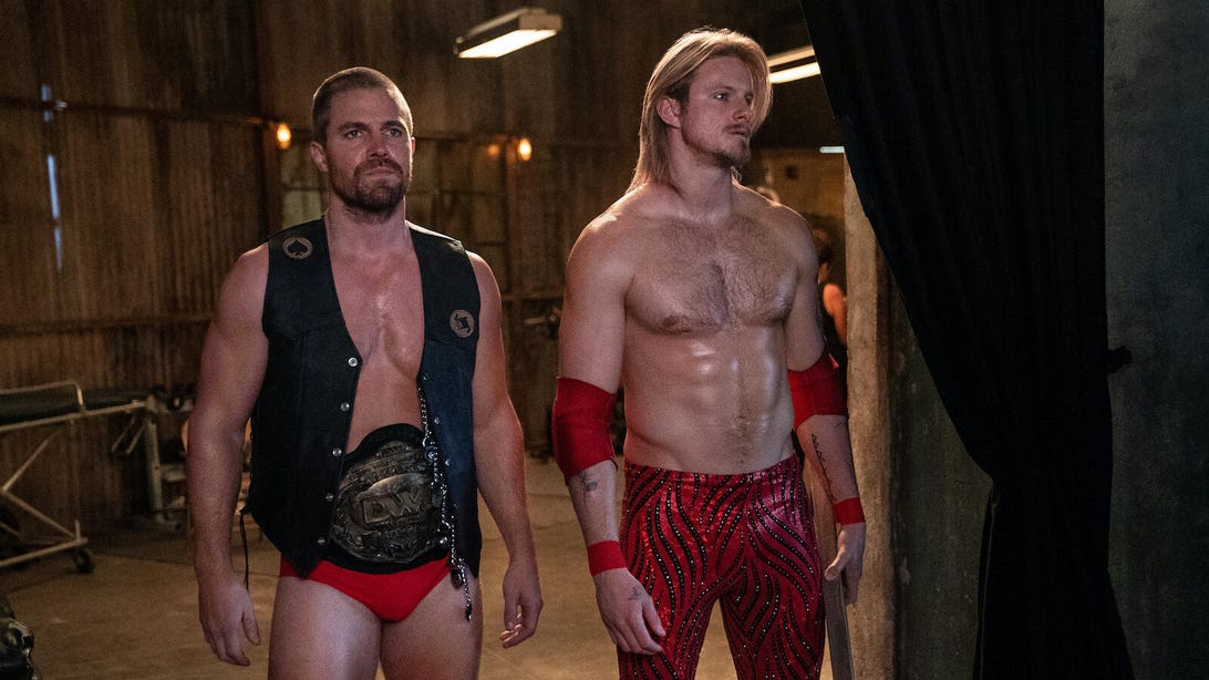 Stephen Amell and Alexander Ludwig, Heels