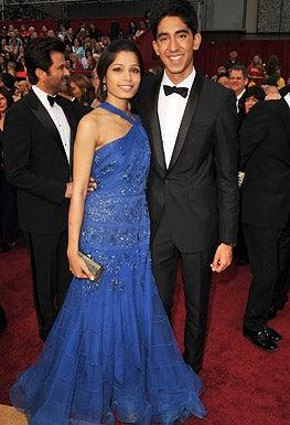 Freida Pinto and Dev Patel - The 81st Annual Academy Awards, February 22, 2009