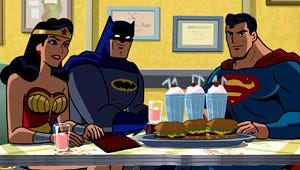 First Look: Batman, Superman and Wonder Woman Team Up on The Brave and the Bold