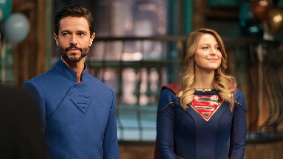 Jason Behr and Melissa Benoist, Supergirl