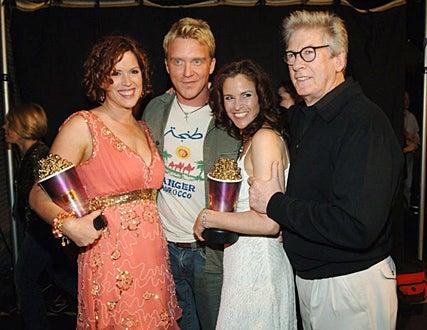 Molly Ringwald, Anthony Michael Hall, Ally Sheedy and Paul Gleason - 2005 MTV Movie Awards, June 4, 2005