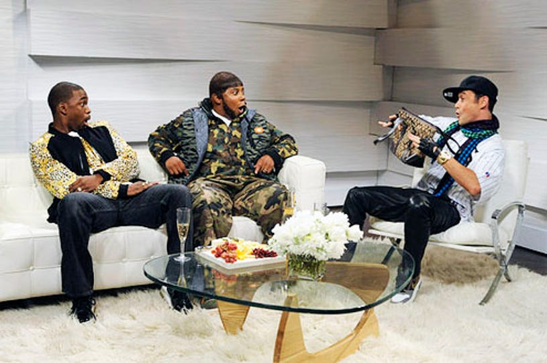 "Saturday Night Live - Season 38 - ""Joseph Gordon Levitt"" - Jay Pharoah, Kenan Thompson and Joseph Gordon-Levitt"