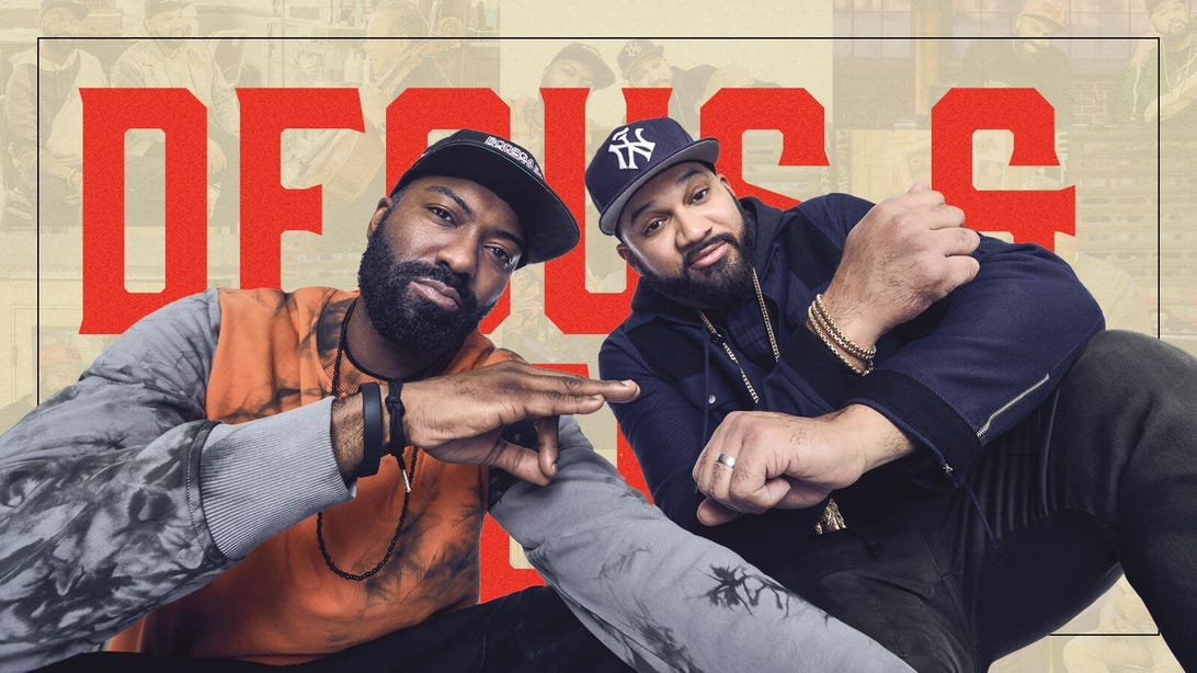 Desus and Mero for 100 Best Shows