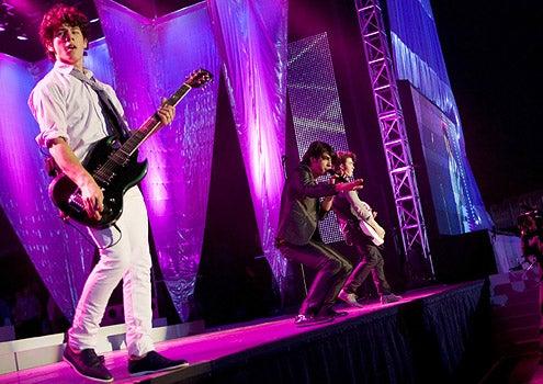 Disney Channel Games - Nick Jonas, Joe Jonas and Kevin Jonas  perform at the Disney Channel Games Concert in Lake Buena Vista, Florida