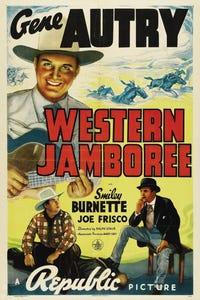 Western Jamboree as Henchman Farrell (uncredited)