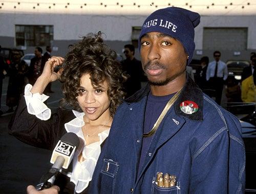 Rosie Perez and Tupac Shakur - 7th Annual Soul Train Music Awards - Shrine Auditorium - Los Angeles, CA - March 9, 1993