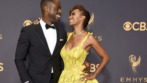 Sterling K. Brown Is Totally Cool with His Wife Stealing the Show at the Emmys