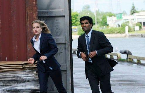"Covert Affairs - Season 1 - ""In the Light"" - Piper Perabo as Annie Walker and  Sendhil Ramamurthy as Jai Wilcox"