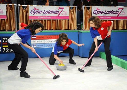 """Saturday Night Live - Season 35 - """"Jennifer Lopez"""" - Nasim Pedrad, Jennifer Lopez and Jenny Slate"""