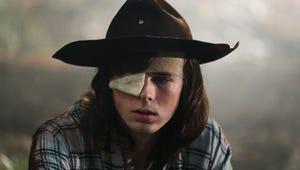 The Walking Dead's Chandler Riggs Books TV Return