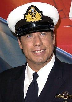 "John Travolta - Qantas Airlines ""Ambassador-at-Large"" in Los Angeles, June 24, 2002"