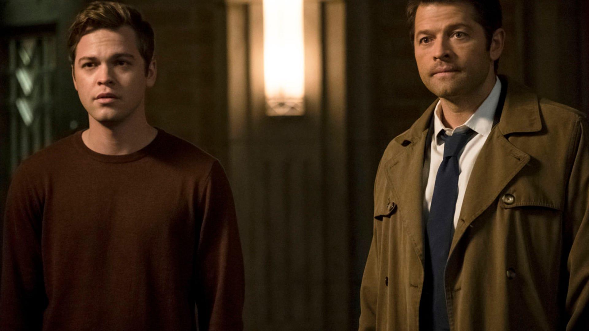 Alex Calvert and Misha Collins, Supernatural