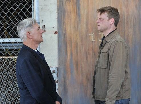 "NCIS - Season 10 - ""Shell Shock – Part I"" - Mark Harmon, Brad Beyer"