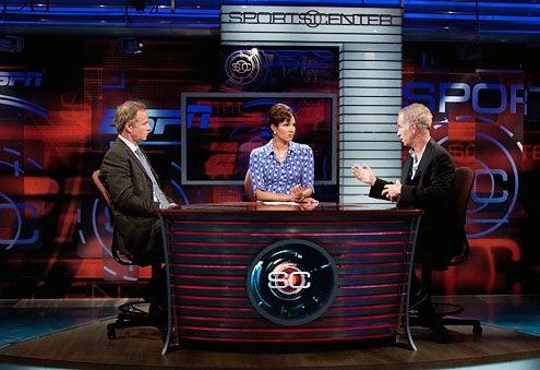 SportsCenter - Patrick McEnroe, Cindy Brunson and John McEnroe