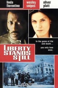 Liberty Stands Still as Businessman