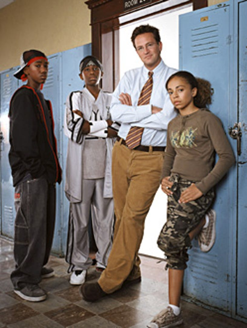 The Ron Clark Story - Brandon Mychal Smith, Micah Williams, Matthew Perry and Hannah Hodson