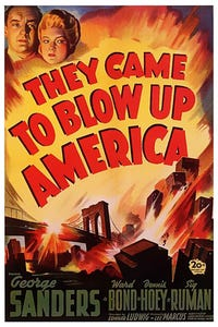 They Came to Blow Up America as Gestapo