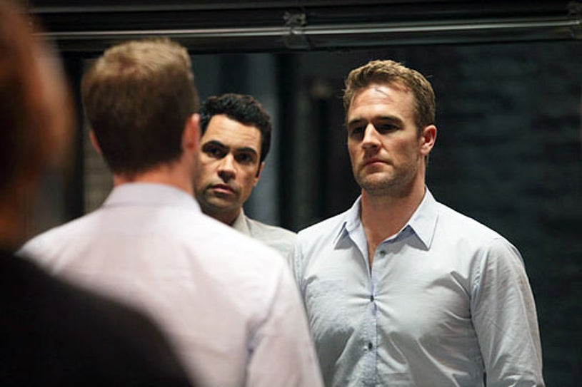 """Law & Order- Special Victims Unit - Season 13 - """"Father Dearest"""" - Danny Pino and James Van Der Beek"""
