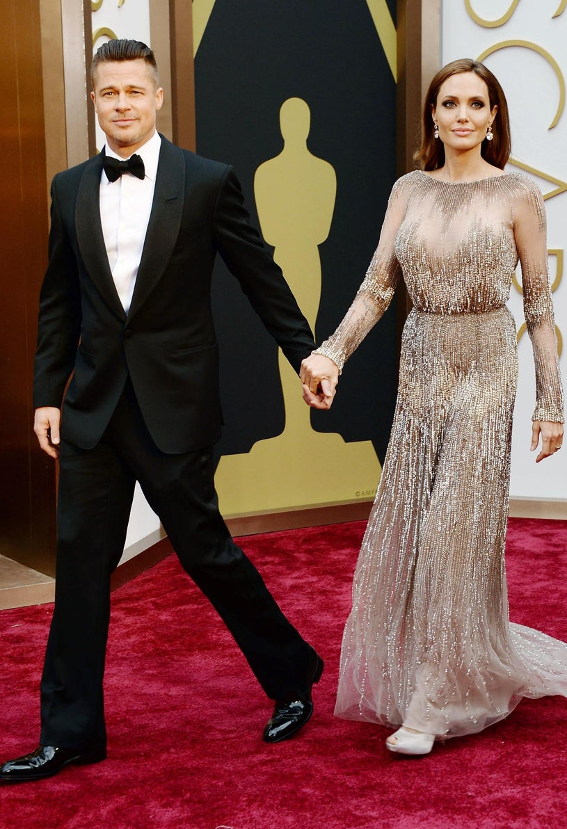 Brad Pitt and Angelina Jolie - 86th Annual Academ Awards in Hollywood, California, March 2, 2014