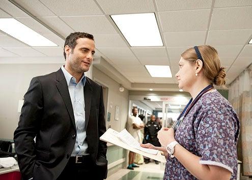 "Nurse Jackie - Season 5 - ""Smile"" - Dominic Fumusa and Merritt Weaver"